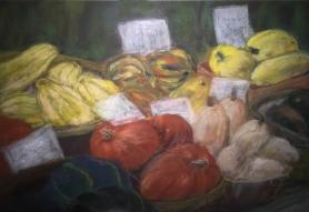 squash galore-pastel-16x20
