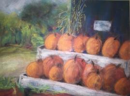 Pumpkin Shelves - Pastel