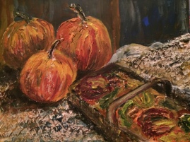 Pumpkins and Such-Acrylic
