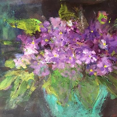 violets-acrylic