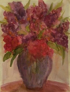 RedFloralBouquet-Watercolor