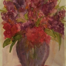 RedFloralBouquet-Watercolor