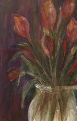 Tulips 1-Acrylic