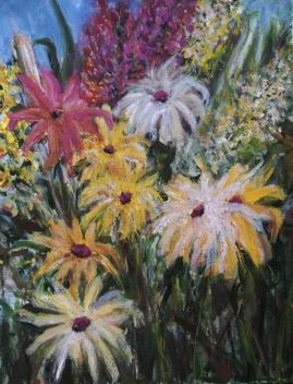 Wildflowers 1-Acrylic